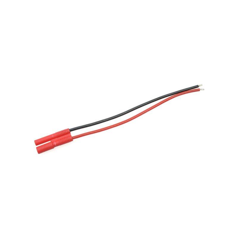 Konektor zlacený 2.0mm samice s kabelem 20AWG 10cm - 1