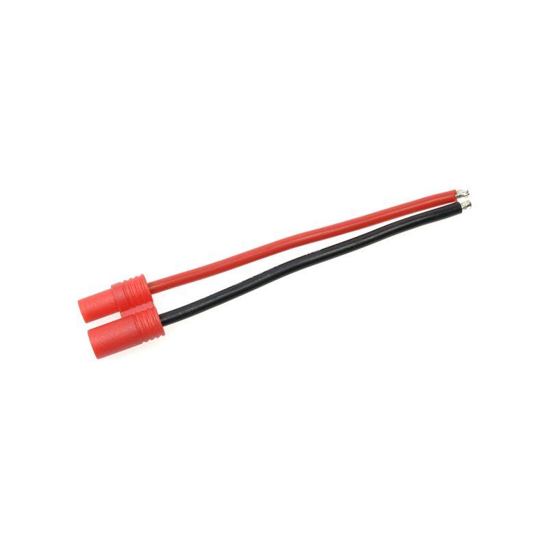 Konektor zlacený 3.5mm samec s kabelem 14AWG 10cm - 1