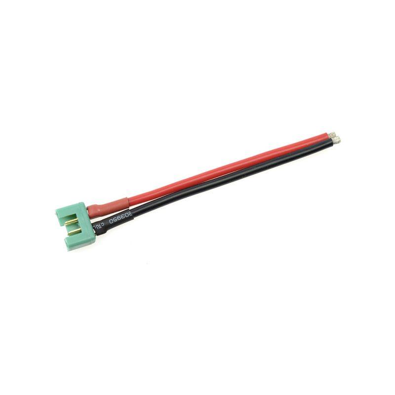 Konektor zlacený MPX samice s kabelem 14AWG 10cm - 1