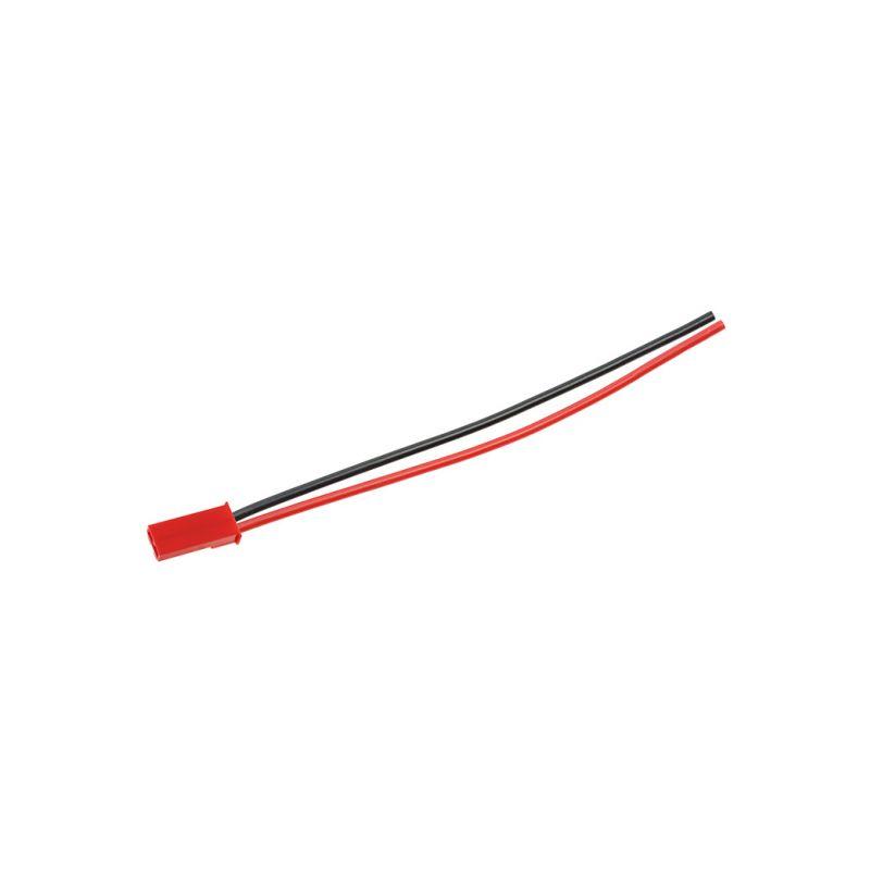 Konektor zlacený JST samec s kabelem 20AWG 8cm - 1