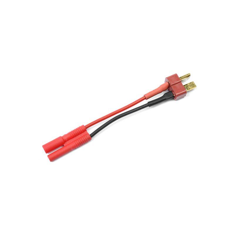 Konverzní kabel Deans samec - 2.0mm zlacený 20AWG - 1