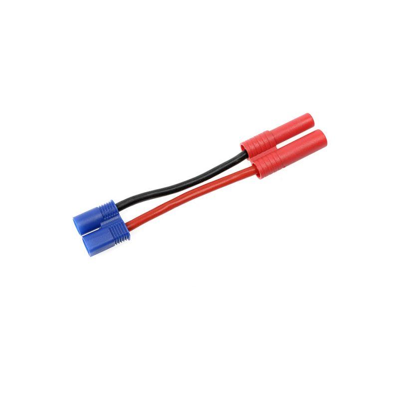 Konverzní kabel EC3 samice - 4.0mm zlacený 14AWG - 1