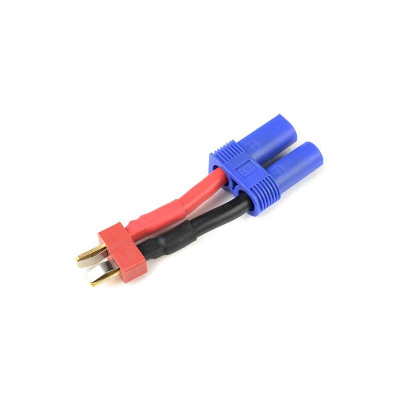 Konverzní kabel Deans samec - EC5 samec 12AWG - 1