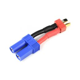 Konverzní kabel Deans samec - EC5 samec 12AWG - 2