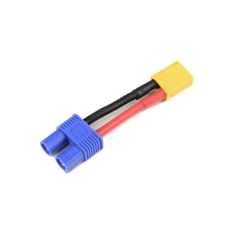 Konverzní kabel EC3 samec - XT-30 samice 14AWG - 1