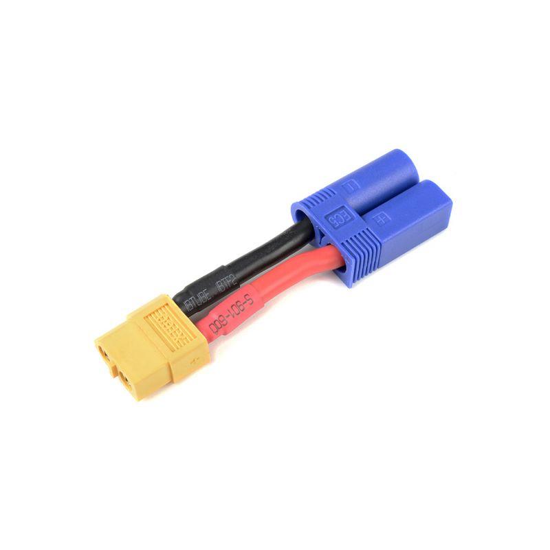 Konverzní kabel EC5 samice - XT-60 samec 12AWG - 1