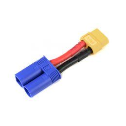 Konverzní kabel EC5 samice - XT-60 samec 12AWG - 2