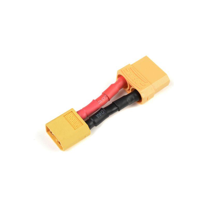 Konverzní kabel XT-60 samice - XT-90 samec 12AWG - 1