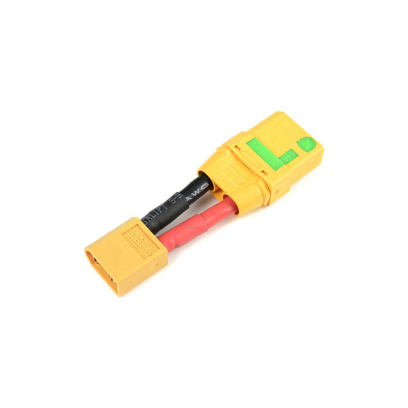 Konverzní kabel XT-60 samice - XT-90 Anti-Spark samec 12AWG - 1