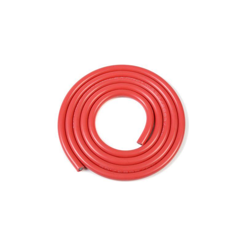 Kabel se silikonovou izolací Powerflex 10AWG červený (1m) - 1