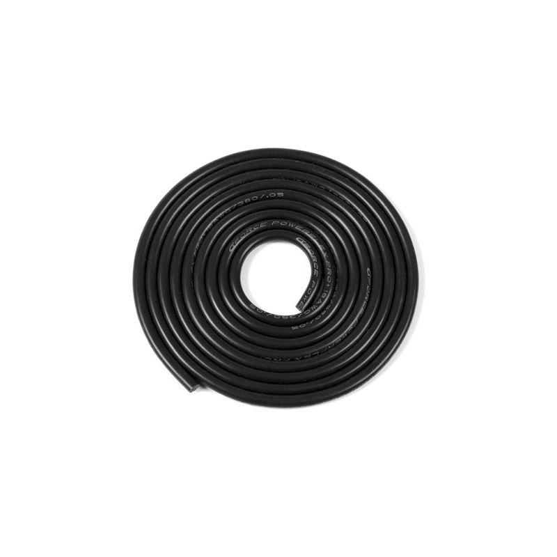 Kabel se silikonovou izolací Powerflex 18AWG černý (1m) - 1