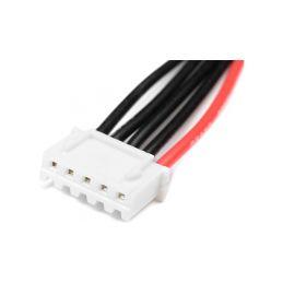 Balanční kabel 4S-XH samec 22AWG 10cm - 2