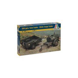 Italeri 250 GAL.S TANK TRAILER - M101 CARGO TRAILER (1:35) - 1