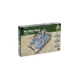 Italeri Wargames - M3/M3A1 Stuart (1:56) - 1