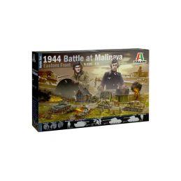 Italeri diorama - bitva u Malinavy 1944 (1:72) - 1