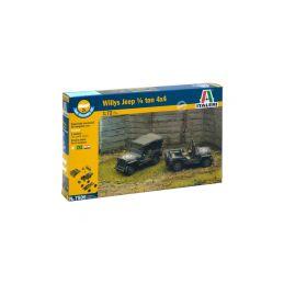 Italeri Easy Kit - 1/4 Ton 4x4 TRUCK (1:72) - 1