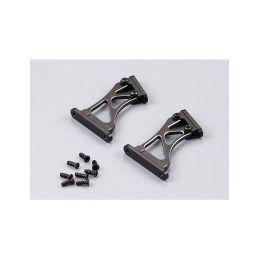 Killerbody vzpěry křídla hliníkové 1:7 vysoké černé - 1
