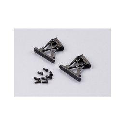 Killerbody vzpěry křídla hliníkové 1:7 střední černé - 1