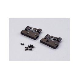 Killerbody vzpěry křídla hliníkové 1:7 nízké černé - 1