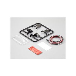 Killerbody zpětná zrcátka typ E s LED - 1