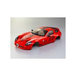 Killerbody karosérie 1:10 Alfa Romeo TZ3 Corsa červená - 1