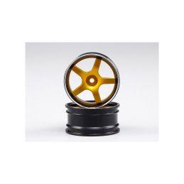 Killerbody disky hliníkové zlaté (2): Lancer EVO X 1:10 - 1