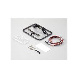 Killerbody zpětná zrcátka typ D s LED osvětlením - 1