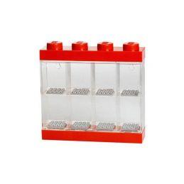 LEGO sběratelská skříňka malá - červená - 1