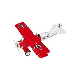 Fokker D.VII 1.2m ARF červený - 1