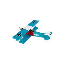 Fokker D.VII 1.2m ARF tyrkysový - 1