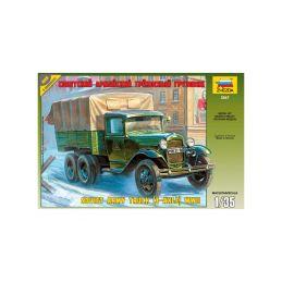 Zvezda sovětský automobil GAZ-AAA (1:35) - 1