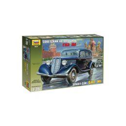 Zvezda sovětské auto GAZ M1 (1:35) - 1