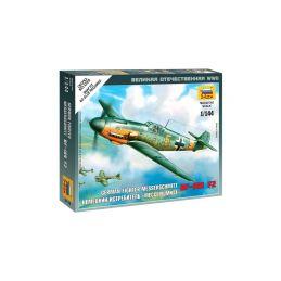 Zvezda Snap Kit - Messerschmitt Bf-109F-2 (1:144) - 1