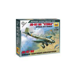 Zvezda Snap Kit - Junkers Ju-87 Stuka (1:144) - 1