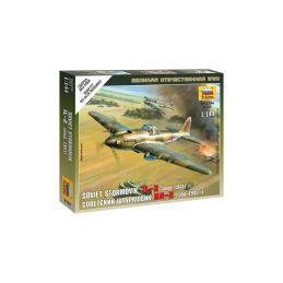 Zvezda Snap Kit - Iljušin IL-2 Stormovik (1:144) - 1