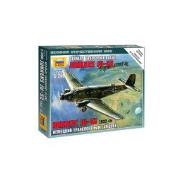 Zvezda Snap Kit - Junkers Ju-52 (1:200) - 1