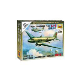 Zvezda Snap Kit - Lisunov Li-2 (1:200) - 1