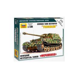 Zvezda Snap Kit - SdKfz 184 Ferdinand (1:100) - 1
