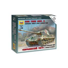 Zvezda Snap Kit - Tiger II (1:100) - 1