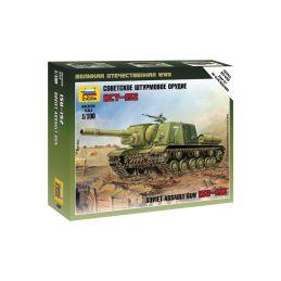 Zvezda Snap Kit - ISU-152 (1:100) - 1