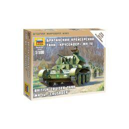 Zvezda Snap Kit - Cruiser MK IV (1:100) - 1