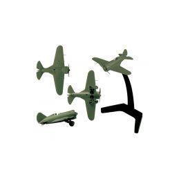Zvezda Snap Kit - Polikarpov I-16 (1:144) - 1