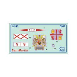 Zvezda Snap - San Martin (1:350) - 7