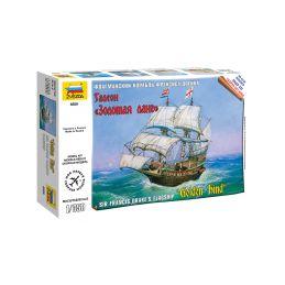Zvezda Snap Kit - Golden Hind (1:350) - 1