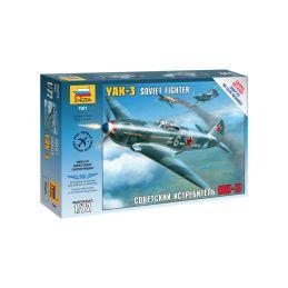 Zvezda Snap Kit - Jakovlev Yak-3 (1:72) - 1