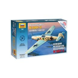 Zvezda Snap Kit - Messerschmitt B-109 F2 (1:72) - 1