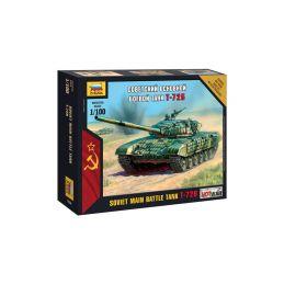 Zvezda Snap Kit - T-72 (1:100) - 1
