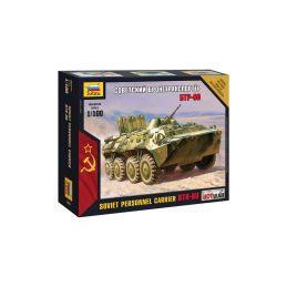 Zvezda Snap Kit - BTR-80 (1:100) - 1