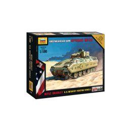 Zvezda Snap Kit - M2A2 Bradley (1:100) - 1