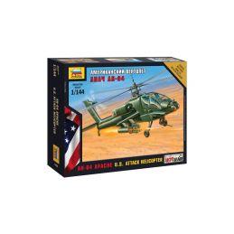Zvezda Snap Kit - Hughs AH-64 Apache (1:144) - 1